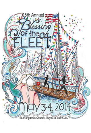 2014 Blessing of the Fleet Artwork