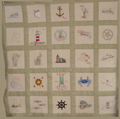 St. Margaret's Ladies Sodality Blessing of the Fleet Quilt
